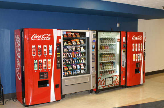 Recreation Center Vending Before Area Treatment